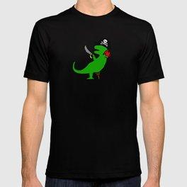 Pirate Dinosaur - T-Rex T-shirt