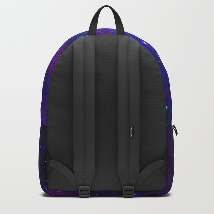 TREES MOON AND SHOOTING STARS Backpack