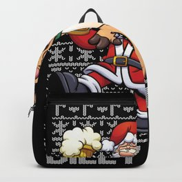 Ugly Christmas Sweater Dilly Dilly Backpack