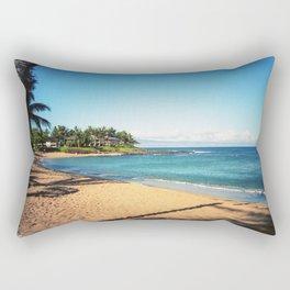 Napili Bay Beach Rectangular Pillow