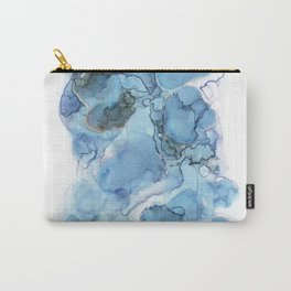 Indigo Abstract No. 4 Carry-All Pouch