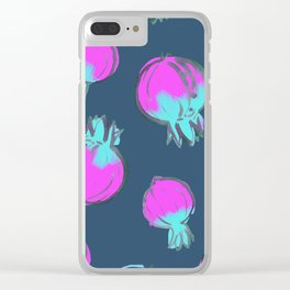 Pomegranate Surprise Clear iPhone Case