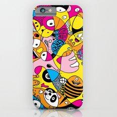 Crazy Bird Blob iPhone 6s Slim Case