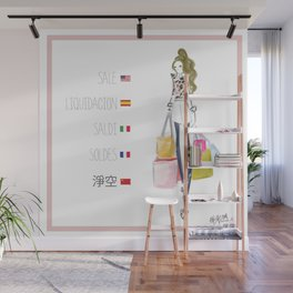 Fashionary: Sale! Wall Mural