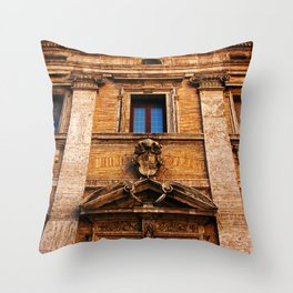 S. Maria in Trivio church in Rome Throw Pillow