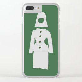 Fashion Designer Icons: Space Age Dress Clear iPhone Case