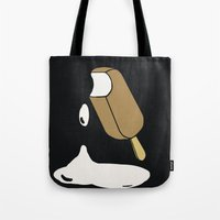 popsicle Tote Bags featuring Popsicle by lazybones
