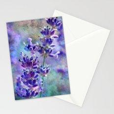 Lavender Grunge Stationery Cards