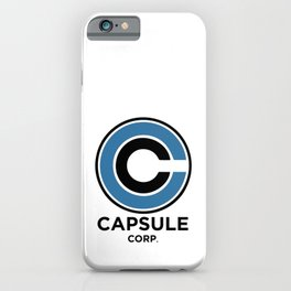 Capsule Corp iPhone Case