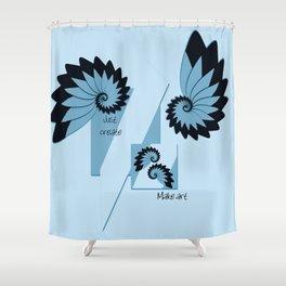 Make art Shower Curtain