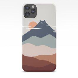 Cat Landscape 21 iPhone Case