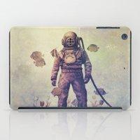 garden iPad Cases featuring Deep Sea Garden - colour option by Terry Fan