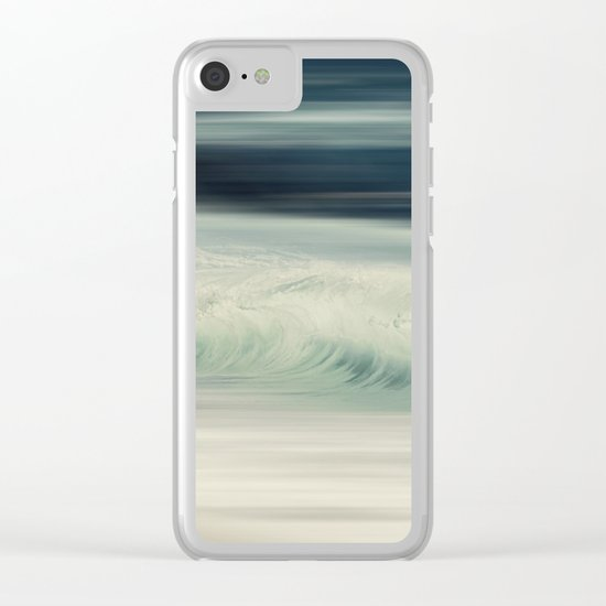 Cristal Surf Clear iPhone Case
