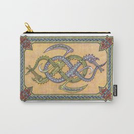 Celtic Infinity Dragons Carry-All Pouch