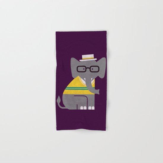 Rodney the preppy elephant Hand & Bath Towel