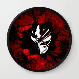Hollow Mask halloween Wall Clock