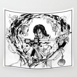 Daryl Dixon Wall Tapestry