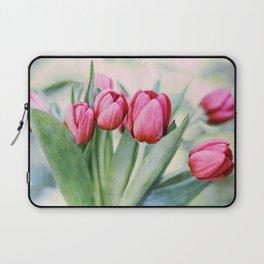 Twilight Tulips Laptop Sleeve
