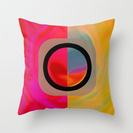 The Dualism Throw Pillow