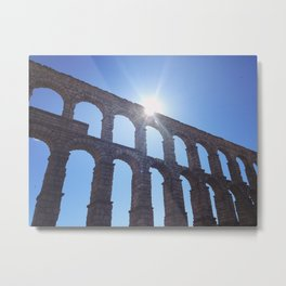 Aqueduct Metal Print