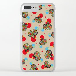 Rooster of Barcelos | Portuguese Lucky Charm Clear iPhone Case