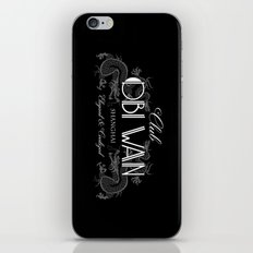 Club Obi Wan iPhone & iPod Skin