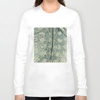 feather Long Sleeve T-shirts featuring feather by Ingrid Beddoes