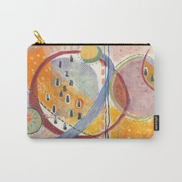Pollen, mixed media abstract Carry-All Pouch