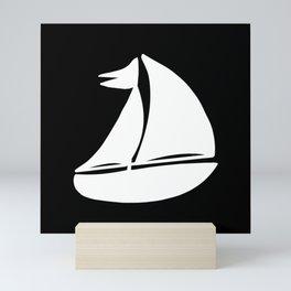 Sailing ship, ships Mini Art Print