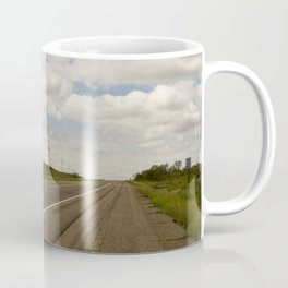 Empty Highway Coffee Mug