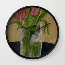 Blue Centers Wall Clock