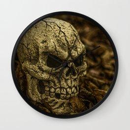 Halloween Skull 1 Wall Clock