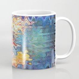 Abstract Rainbow Splashing Waves Free Flow of Creation Coffee Mug