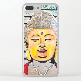 Good Karma Buddha Clear iPhone Case