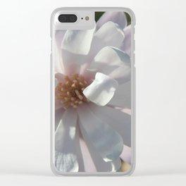 Star Magnoila II Clear iPhone Case