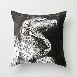 Rüppell's Vulture Throw Pillow
