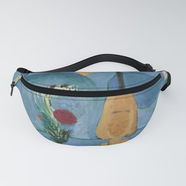 The Blue Window, Issy-les-Moulineaux, 1913 by Henri Matisse, Artwork Design, Poster Tshirt, Tee, Jer Fanny Pack