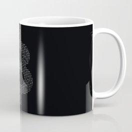 Bitcoin Binary Black Coffee Mug