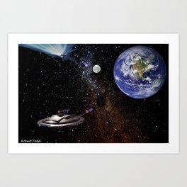 Star  Trecken Art Print