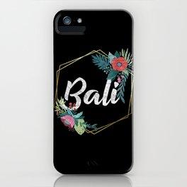 Bali Distressed iPhone Case