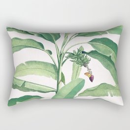 Banana leaves VI Rectangular Pillow