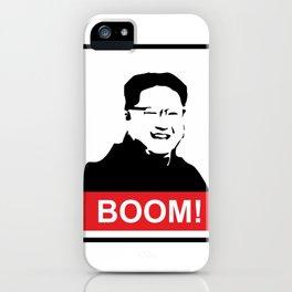 Kim Jong Un BOOM #society6 #decor #buyart #artprint iPhone Case