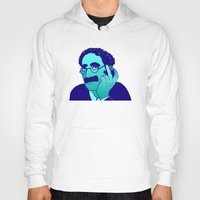 marx Hoodies featuring Groucho by Kramcox