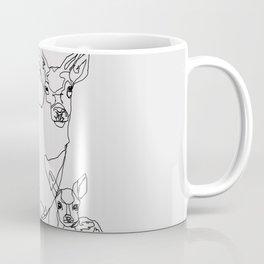 Bambi & Stag Coffee Mug