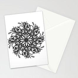 """Meditations Of Nature"" No.1 | Perpetual Floral Mandala Stationery Cards"