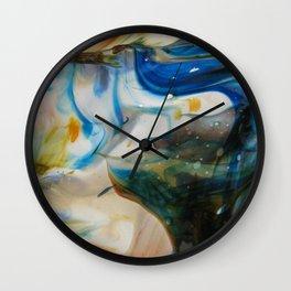 night trip Wall Clock