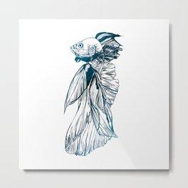 A Fish Tale Metal Print