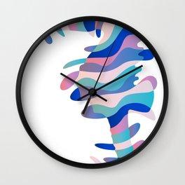 Aquatic Equine Wall Clock