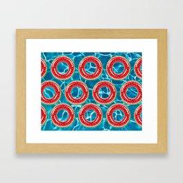 Water-melons Framed Art Print