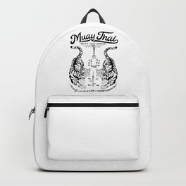 Muay Thai Tattoo Backpack